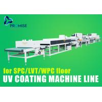 Buy cheap 27m UV Coating Machine Line SPC / LVT / WPC Floor 164mm*1450mm Doctor Roller from wholesalers