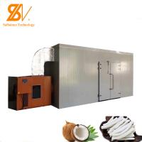 Buy cheap Commercial  Hot Air  Fruit Blower Mesh Belt Vegetable  Drying Machine Meat Seafood Dryer from wholesalers