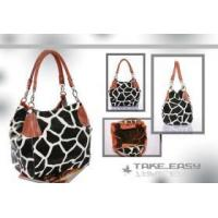 Buy cheap PINK GIRAFFE ANIMAL Print Buckle Hobo ladies Handbag Purse801# from wholesalers
