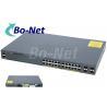 Buy cheap WS C2960X 24TS L Cisco Soho Gigabit Switch , Cisco 2960x 24 Port Switch 80G from wholesalers
