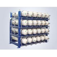 Buy cheap Steel Frame CNG Gas Cylinder , CNG Cascade Storage 250bar Operating Pressure from wholesalers