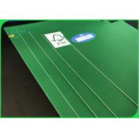 Buy cheap FSC Certificated 1.0mm - 3.0 mm Uncoated Green Cardboard With Great Stifiness For Packages Boxes from wholesalers
