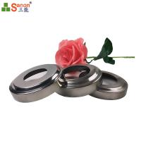 China Handrail Fitting 51mm Base Cover Stainless Steel 201 Decoration Cover on sale
