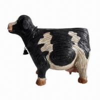 Buy cheap Flower pot in beautiful cow shape, for garden decorations  from wholesalers