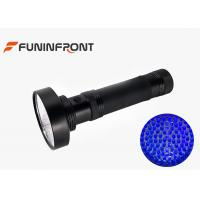 6*aa Black Housing 100 Leds UV Flashlight 395NM - 410NM for Currency, Pet Urine Detector Manufactures