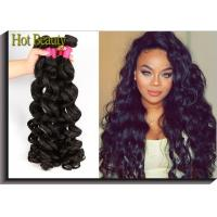 Buy cheap Brand New Non Remy Brazilian Virgin Human Hair Extensions Big Curly , Real Human Hair Weave from wholesalers
