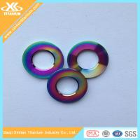 Buy cheap Factory Price For Colorful Gr5 Titanium Flat Washer from wholesalers