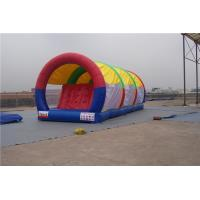 Buy cheap Portable Inflatable Water Pool Slide , Double Lane Slip And Slide For Gardens from wholesalers