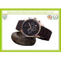 Buy cheap 300 Water Resistant Men Wrist Watches Black With Calendar from wholesalers