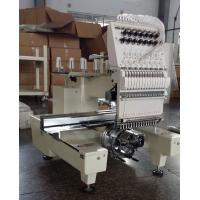One Head Large Format Embroidery Machine 12 Needle With  270° Wide Angle Cap System