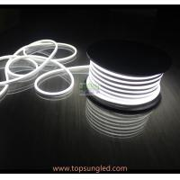 Wholesale 50m 12v 24v micro 7*15mm high lumen white milky Jacket Mini Led Flex Neon 10cm cuttable Flexible LED Neon Rope from china suppliers