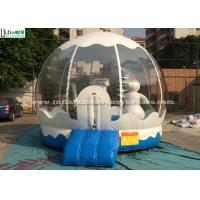 Buy cheap Outdoor Bounce House Snowman Inflatable Kids Jumping Bouncer for Garden from wholesalers