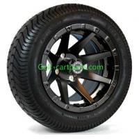 Buy cheap Custom 12 Inch Golf Cart Wheels Tires Ezgo Wheels And Tires Set Of 4 Shiney from wholesalers