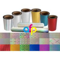 Buy cheap Colorful / Transparent Laser Holographic Film With Patterns 180 - 1880mm Width from wholesalers