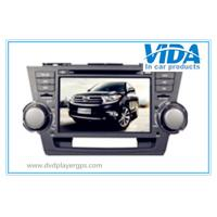 Buy cheap Toyota Two DIN 8'' Car DVD Player with gps/TV/BT/RDS/IR/AUX/IPOD special for Highlander from wholesalers