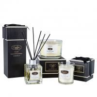 Buy cheap Aroma Luxury Aromatherapy Candle Scented Soy Wax Glass Jar Candles and Private Label Fragrance Reed Diffuser Gift Set from wholesalers