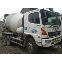 China Hino 8cbm Used Concrete Mixer Truck / Cement Mixing Truck Made Year 2004 on sale