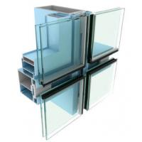 Buy cheap Industrial Aluminium Curtain Wall Profile  For Curtain Wall Double Glass from wholesalers