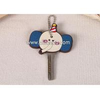 Wholesale Chinese manufacturer custom fashionable soft PVC silicon car key cover from china suppliers