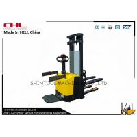 Buy cheap Professional Electric Pallet Stacker / Logistics Engineering electric walkie stacker from wholesalers