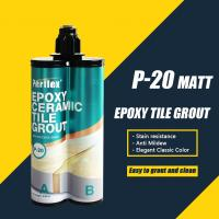 Buy cheap Mould Resistance Two Part Epoxy Grout , Flexible Epoxy Grout For Granite from wholesalers