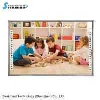 Buy cheap multi-touch Aluminum Frame smart board Infrared Electronic Whiteboard for classroom E-learning from wholesalers