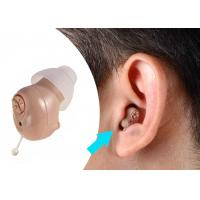 Buy cheap Fit In Right / Left Ear Hearing Aid MachineABS Materials Long Lasting Battery product