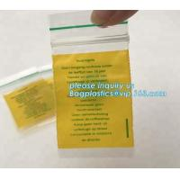Buy cheap Factory custom color small red / pink / green / yellow / blue resealable ziploc bag for decorations, bagplastics, bageas from wholesalers