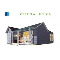 Buy cheap Steel Frame Villa Style Modern Prefabricated Houses For Living Heat Preservation from wholesalers