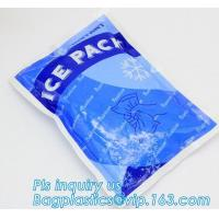 Buy cheap Fresh Food ice pack water injection Ice Bag, Dry Ice , Food fresh care rectangular shape gel cooling pack, summer coolin from wholesalers