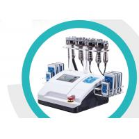 Buy cheap Rf Cavitation Lipo Laser Slimming Machine Smooth Fatigue With 8 Inch Touch Screen from wholesalers