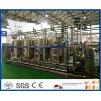 Buy cheap Full Automatic Temperature Control PLC CIP Cleaning System With 4 Tanks Structure 3000L 5000L from wholesalers