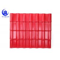 China Great Productive Capacity Color ASA Coated Corrugated Synthetic Resin Roof Tile on sale