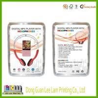 Buy cheap clear PVC blister packing PVC blister clamshell packing for ear phone from wholesalers