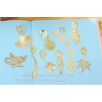 Buy cheap Custom designed etching metal bookmarks for reading, etched steel bookmarks from wholesalers