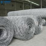 Buy cheap Galvanized Heavy Hexagonal 0.3mm Woven Wire Mesh from wholesalers