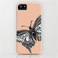 Buy cheap Antidusting durable Non - toxic butterfly Hard plastic case Apple iPhone Protective Cases for lady from wholesalers