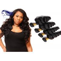Buy cheap Brazilian Hair Extensions Pure Human Hair Double Weft Loose Wave from wholesalers