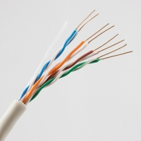 Buy cheap CCA Conductor 0.45 Solid 4 Pair Cat5e UTP Cable from wholesalers