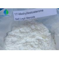 Wholesale 99% Purity Steroid Powders 17- MethylTestosterone CAS 58-18-4 for Bodybuilding from china suppliers