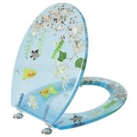 decorative clear polyresin toilet seat,color toilet seat,toilet,cover,MDF,PVC,PP,WOOD
