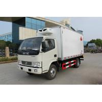 Buy cheap Foton 3-5Tons 4*2 Refrigerated Van Truck For Meat / Fish Transportation from wholesalers