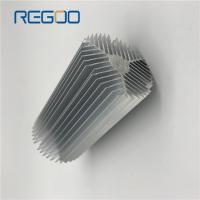 Buy cheap Silver Anodized Industrial Aluminum Heat Sink For Motor / Custom Machined Components from wholesalers