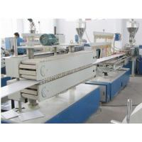 Buy cheap Wooden Plastic Product Pvc Sheet Extrusion Line / Machine Fully Automatic from wholesalers
