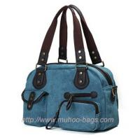 Buy cheap Fashion Canvas Diaper handbag for lady (MH-6003) from wholesalers