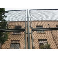 Buy cheap 50mm Metal Chain Link Fence PVC Coated 3.5mm Steel Diamond Mesh from wholesalers