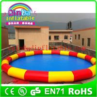 Buy cheap PVC inflatable adult swimming pool,inflatable swimming pool,inflatable pool from wholesalers