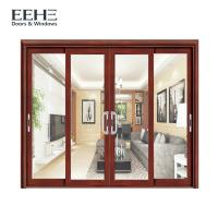 Buy cheap Frosted Glass Slimline Aluminium Sliding Patio Doors High Temperature Resistant from wholesalers