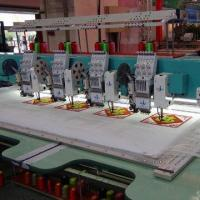Buy cheap Towel/Chenile/Sequin Flat Function Mixed Embroidery Machine from wholesalers