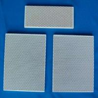China Gas Burner Ceramic Alumina Plate , Porous Ceramic Plate  For Industrial Thermal Equipment on sale